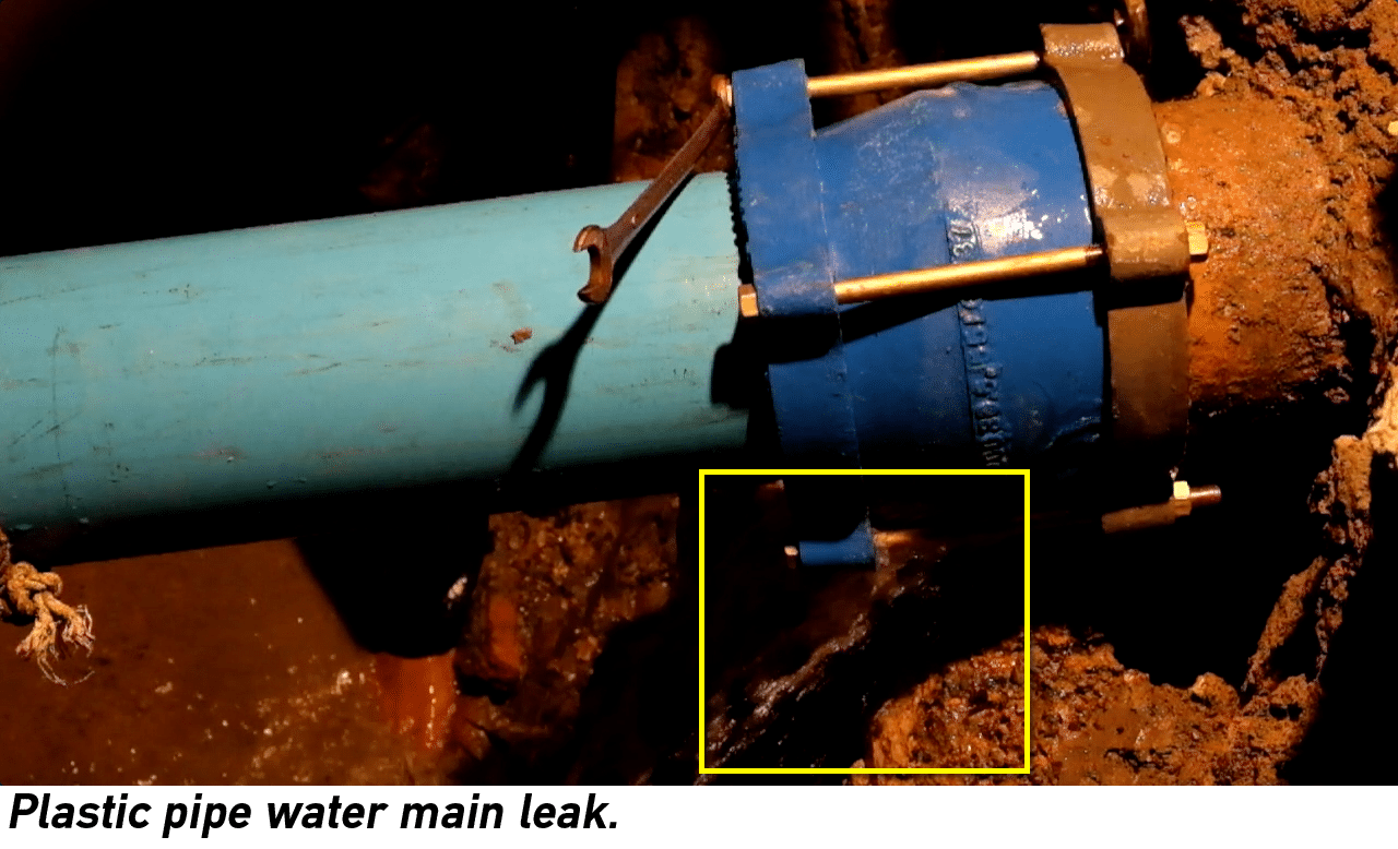 New law for reporting water loss sb 555 electro scan inc for Water pipe noise reduction